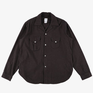 #2214 E-Z Cruz shirt SF2 / solid flannel brown