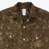 #2214R E-Z cruz Shirt R LB1 / liquid batik brown