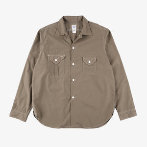 #2214R E-Z cruz Shirt R CT4 / cotton typewriter olive