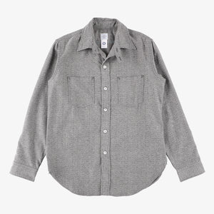 #2216 The POST III-R-W HF / heather flannel lt. grey