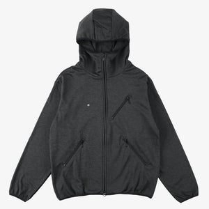 #3601 EZ HOODIE PJ1 / poly jersey charcoal heather