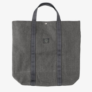 #4201 POS-TOTE Supreme SH / grey heather stripe charcoal Shop Special