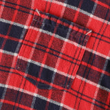 #3205 E-Z Cruz R2 PF1 / plaid flannel red x navy