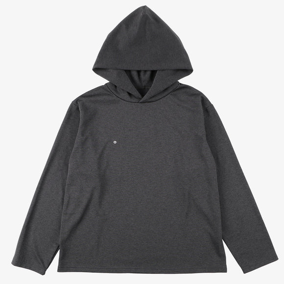 #3607 E-Z Hoodie LLC PJ1 / poly jersey charcoal heather
