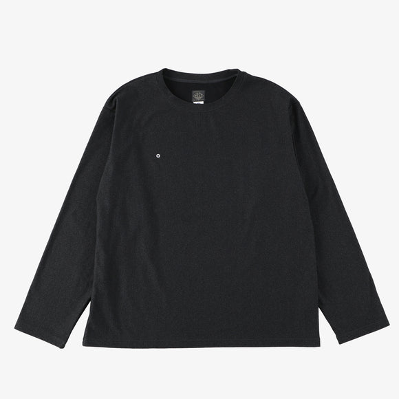 #3608 E-Z L/S Tee MPJ / mid weight poly jersey dark charcoal heather