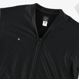 #3609 E-Z Zip Cardigan MPJ / mid weight poly jersey dark charcoal heather