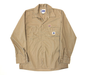 x henne vender Work Shirt / PC poplin