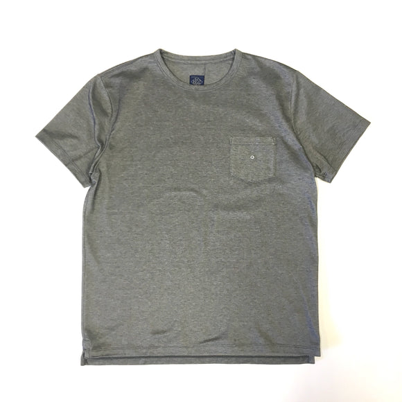 #3606 Binder Pocket Tee CMP3 / Coolmax Pique  charcoal heather