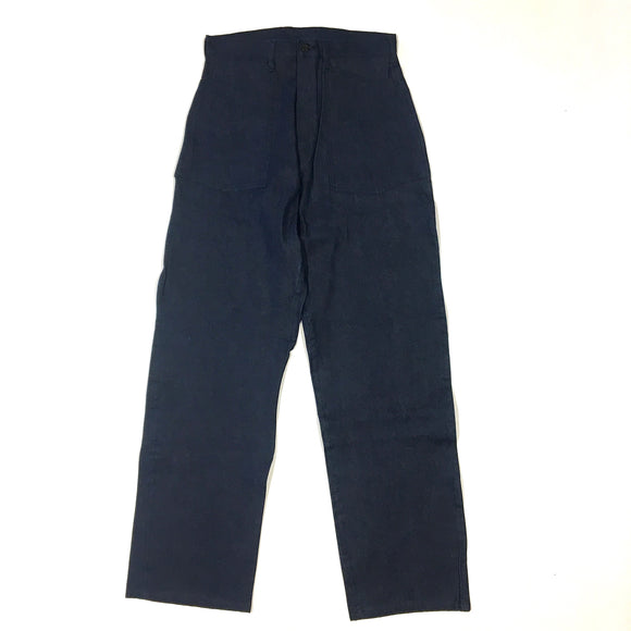 #1301 ARMY Pants / 9 oz blue denim / XS~XL size