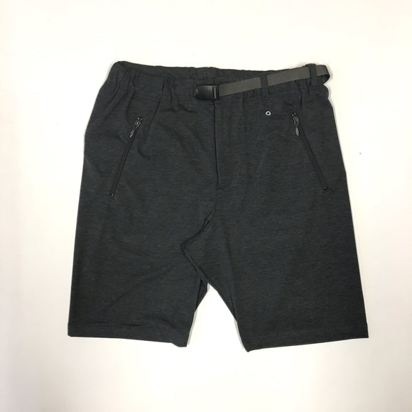 #3604 E-Z shorts PJ1 / light weight poly jersey charcoal heather