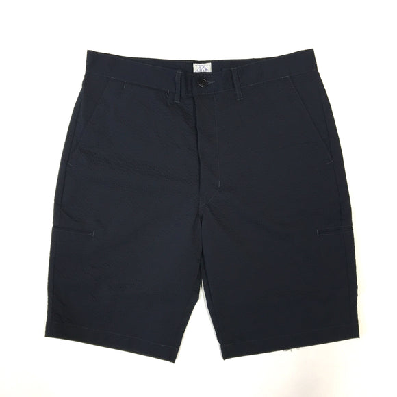 #2321S CITI-CRUZ Shorts PCS2 / P/C seersucker navy