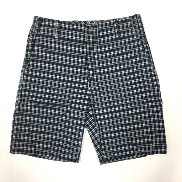 #1309 Style BEN'S shorts / plaid denim / L,XL size