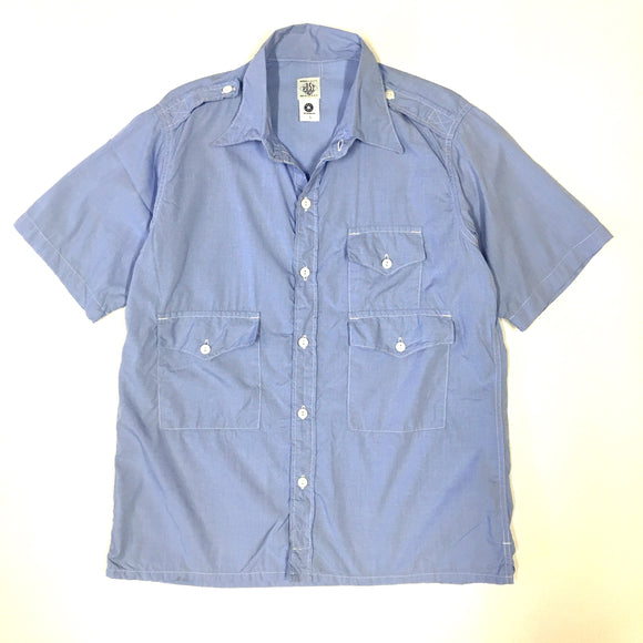 #1273S TOWN & COUNTRY S/S / broad chambray / M~XL size