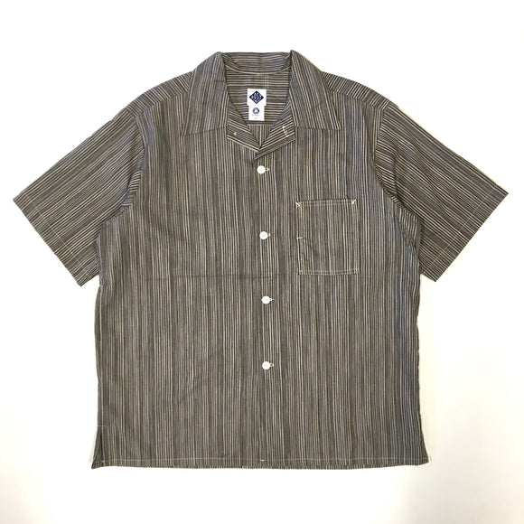 #1258 E-Z Shirt S/S / mix stripe / S,M,L size