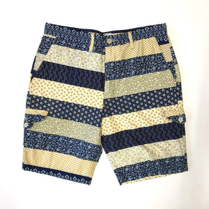 #2310L Lined Cruzer Short 2 / calico border / M size