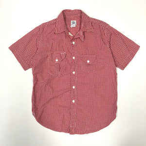 #1256S Cruzer Shirt 2 SS / gingham check / S, M size