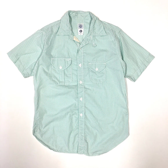 #1256S Cruzer Shirt 2 SS / gingham check / M, L size
