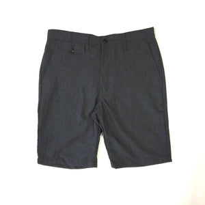 #1374L Lined MENPOLINI Short / poly heather / S~XL size