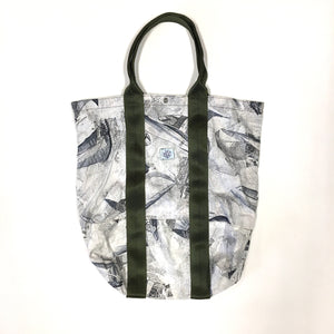 #1960 POS-TOTE / nautical print