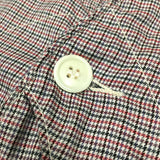 #1512 Royal Traveler / hounds tooth plaid /  M size