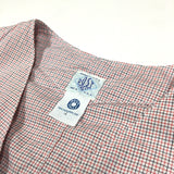 #1512 Royal Traveler / tattersall shirting / S, M size