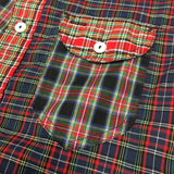 #1295 C-POST 3 / tartan shirting combo / XS size