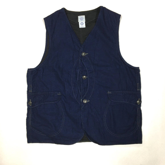 #1512 Royal Traveler / indigo flannel / S, M, L size