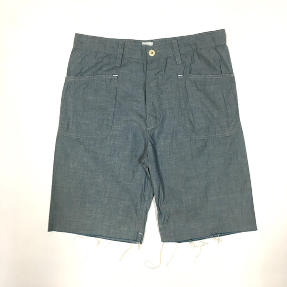 1304S NAVY Pants Cutoff / Cone chambray / M size