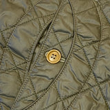 #1512 Royal Traveler / quilted nylon taffeta / olive / XS size