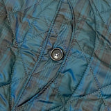 #1512 Royal Traveler / quilted polyester taffeta / blackwatch / XS size
