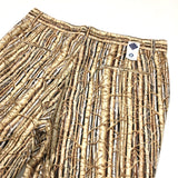 #1374L Lined MENPOLINI Shorts / woody wood / L size