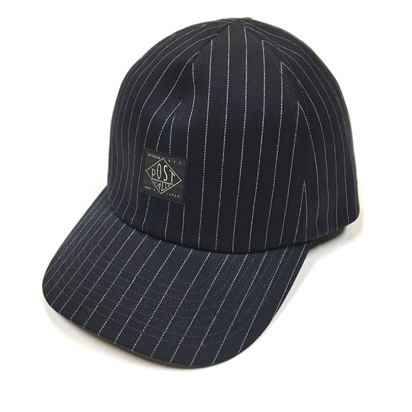 #4101 POST Ball Cap IS / gangster stripe indigo / *shop special