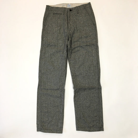 #1378L Lined Double Needle Chino / HB Tweed Grey / S ~ XL size