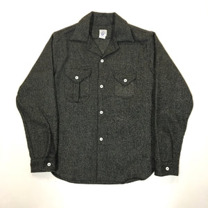 #2214 E-Z cruz shirt / wool HBT tweed / M size