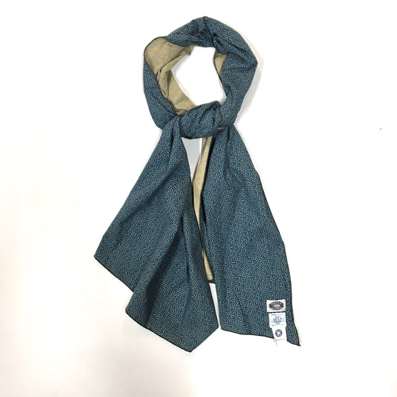 #1950DC calico neckwear w/ DAILY CURE  / blue eyes
