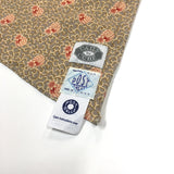 #1950DC calico neckwear w/ DAILY CURE  / grey nut imperial