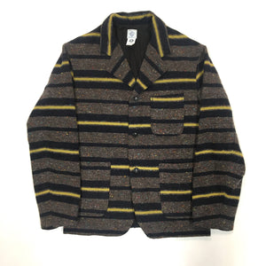 #2123 E-Z Rider / trashed wool / grey x yellow / M size