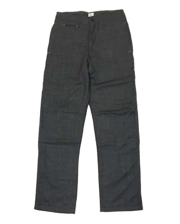 #2306L Lined POST-CHINO / donegal tweed / S size
