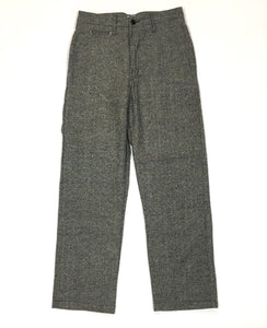 #2306L Lined POST-CHINO / donegal tweed / S, M size