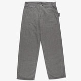 #3301 Mainter Pants SH / grey heather stripe charcoal