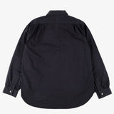 #1201 No.1 Shirt CT1 / cotton twill black