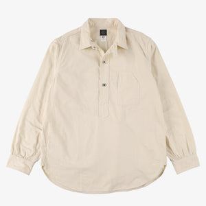 #1201 No.1 Shirt CT2 / cotton twill natural