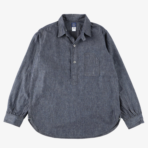 #1201 No.1 Shirt HC / heavy chambray indigo
