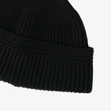 #4102 POST Beanie 3 / wool knit black Shop Special