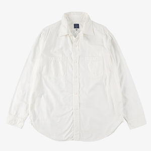 #2216 The POST III-R-W CO / cotton oxford white