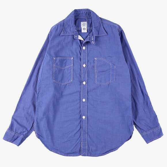 1102 Shirt / cotton blue shirting