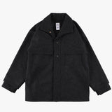 #2133 POST LOGGER WM2 / wool melton charcoal heather