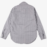#1249 C-POST 6 / cotton monotone check