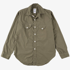 Cruzer Shirt 2 / cotton poplin olive