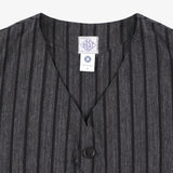 #1512 ROYAL TRAVELER SH / stripe heather charcoal